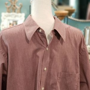 Geoffrey Beene Wrinkle Free 17 34/35 Dress Shirt